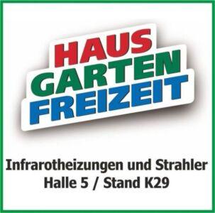 nuck Infrarotheizungen auf Messe in Leipzig