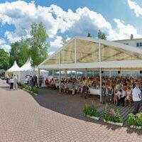 Bild Festzelte 15m breit mit Pagoden in Dresden
