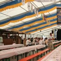Bild Eibau Festzelt 25m breit