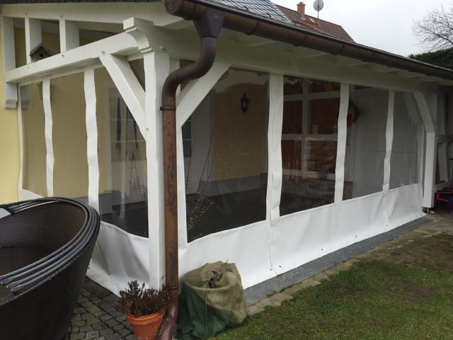 vorh nge f r terrassen home image ideen. Black Bedroom Furniture Sets. Home Design Ideas